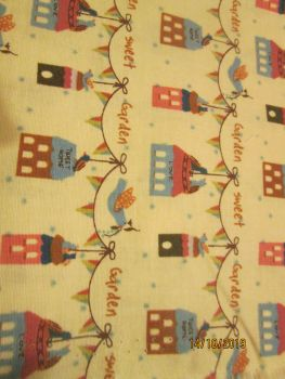 GUTERMANN SWEET GARDEN BUNTING ON BEIGE