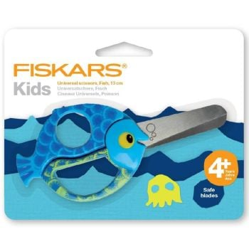 FISKARS KIDS SCISSORS 4+YRS ..FISH.. Lovely quality