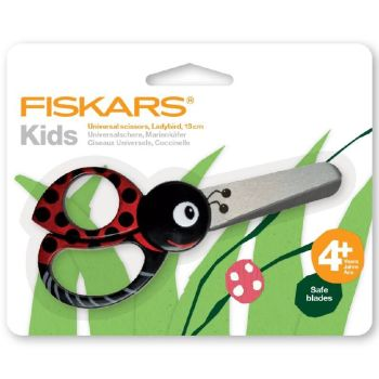 FISKARS KIDS SCISSORS 4+YRS ..Ladybird.. Lovely quality