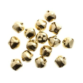 10  Christmas bells (10mm) for ornaments, gingers , cushions, etc
