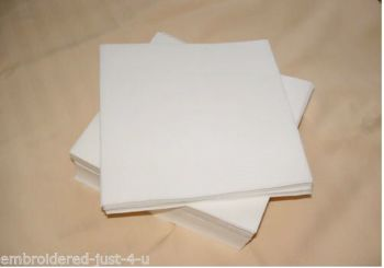 PRE-CUT squares - Economy easy Tear 20 X 20 CM  -  500  PIECES - special offer