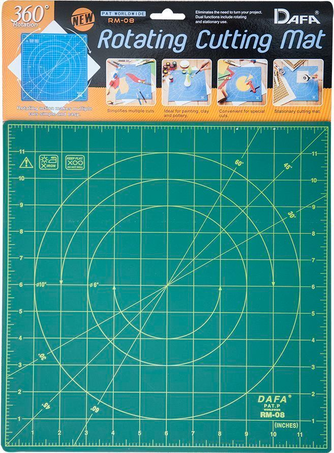 Coming 1st April - Dafa Rotating Cutting mat 30cm(12in) square