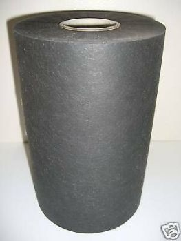 100m x 25CM  charcoal (black) 40g CUTAWAY Backing - SOFT AND STRONG