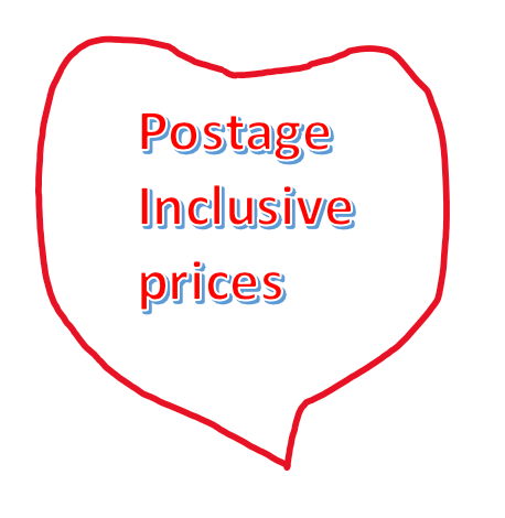 <!-- 020 -->ITEMS WITH POSTAGE INCLUDED