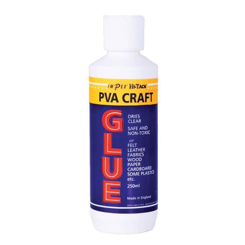 Adhesive: Hi-Tack PVA craft Glue: 250ml
