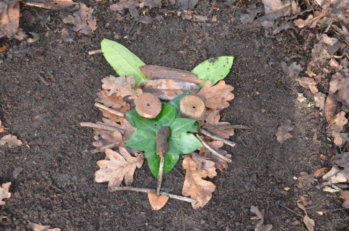 Budding Goldsworthy's - Thursday 9th April - Delph Woods