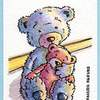 aceo img 96 dpi you are loved teddy with baby bear 14 8 2013171