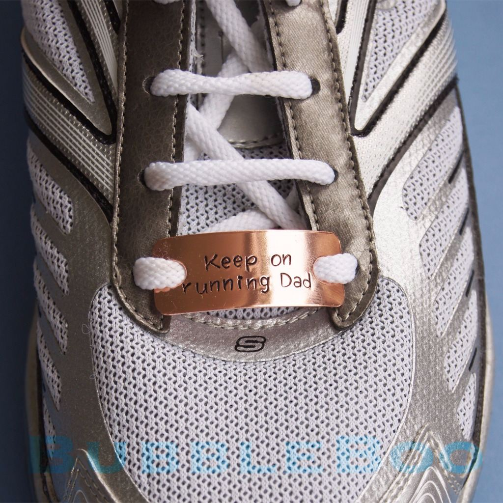 Personalised Copper Trainer Tags (Pair)