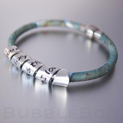 Vegan Secret Message Bracelet
