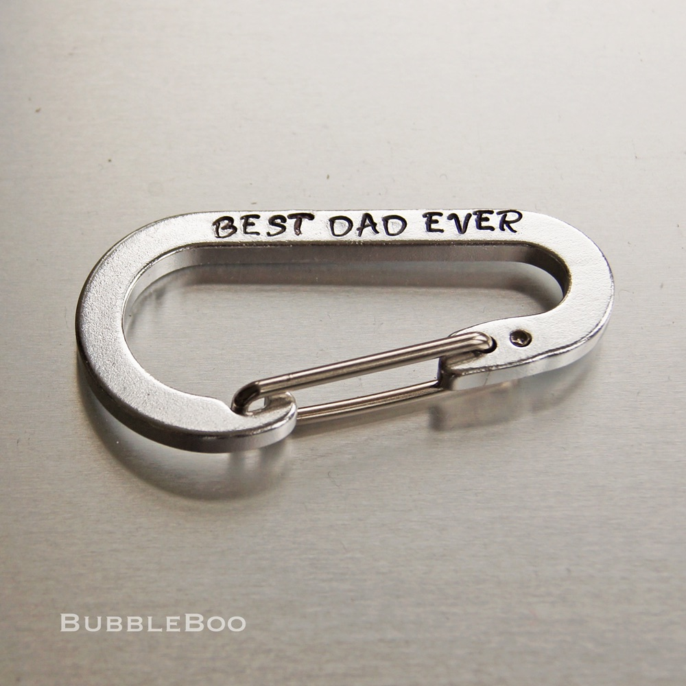 Personalised Carabiner Key Ring