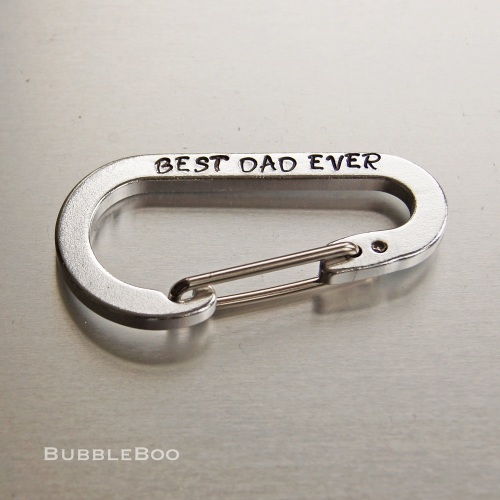 Personalised Carabiner Key Ring