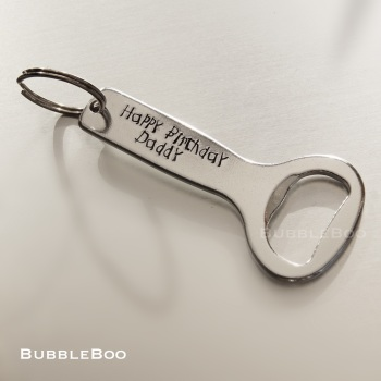 Personalised Bottle Opener.