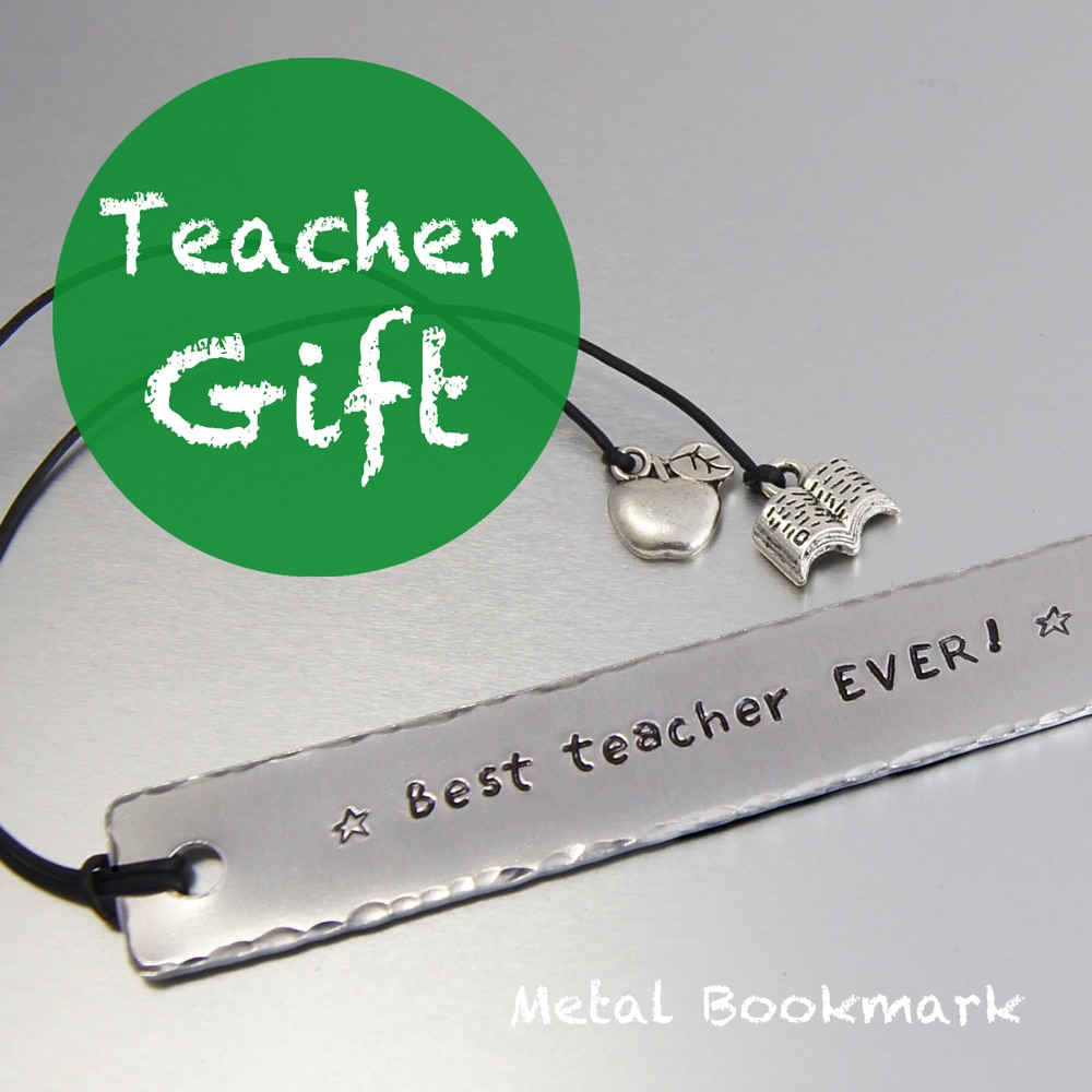 Teacher Gift Metal bookmark