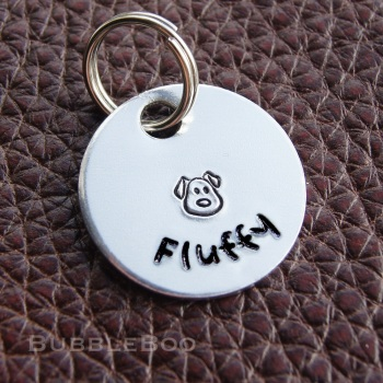 Personalised Dog Tag.