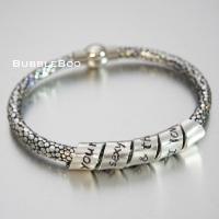 Vegan Secret Message Sparkle bracelet