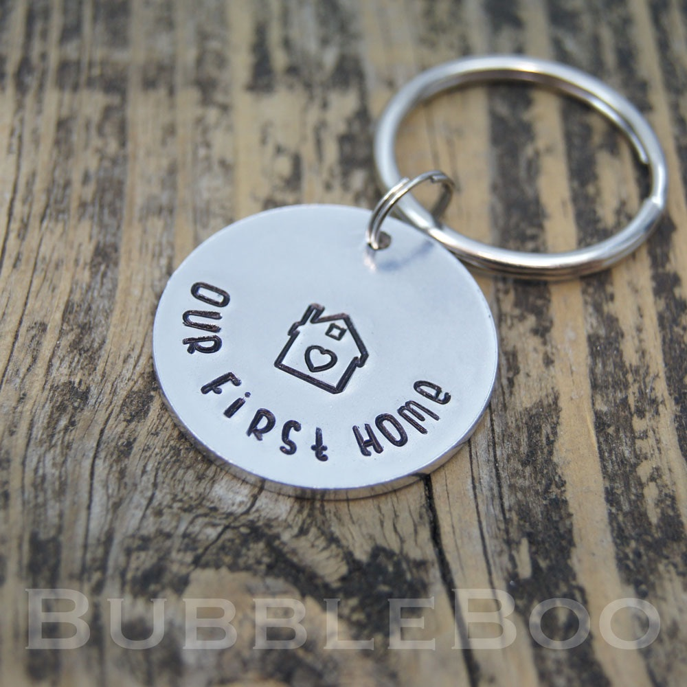 Our 1st Home Keyring