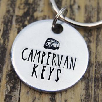 Camper Van Keyring
