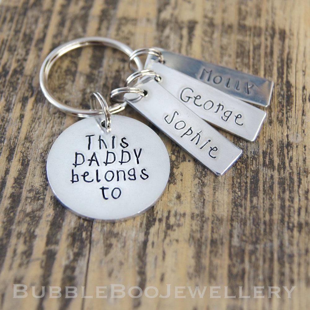 Daddy Keyring
