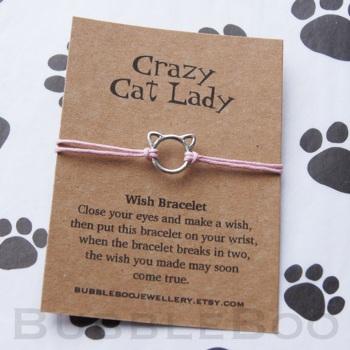 Cat Wish Bracelet - Crazy Cat Lady