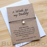 A Wish For My Daddy Bracelet
