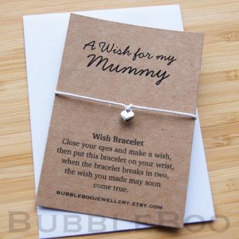 A Wish For My Mummy Bracelet
