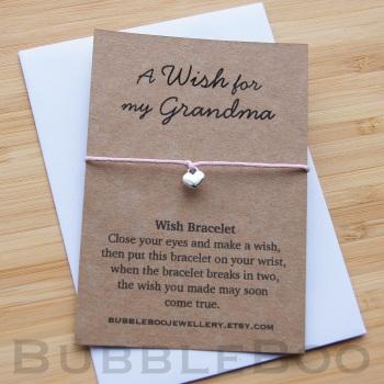 A Wish For My Grandma Bracelet
