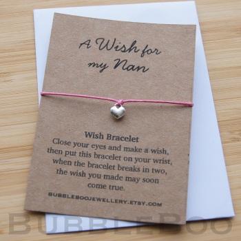 A Wish For My Nan Bracelet