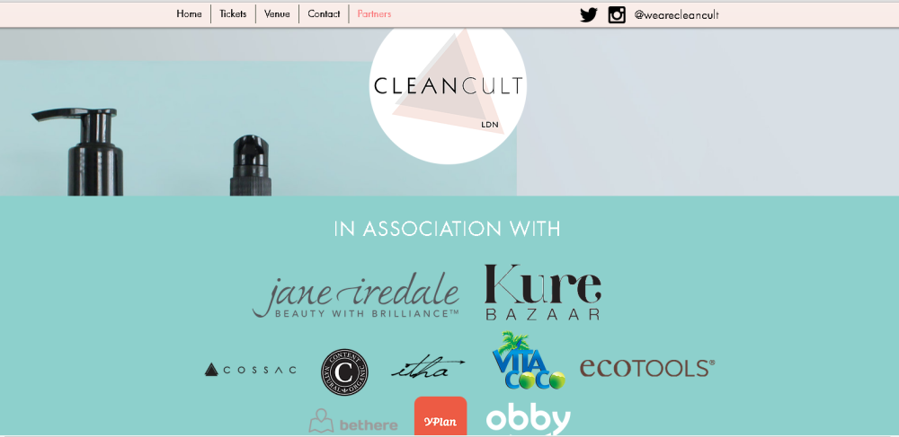 Cleancult London 2016
