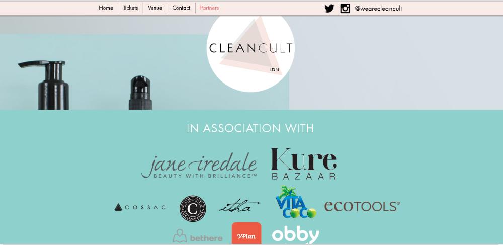 Cleancult London 2016