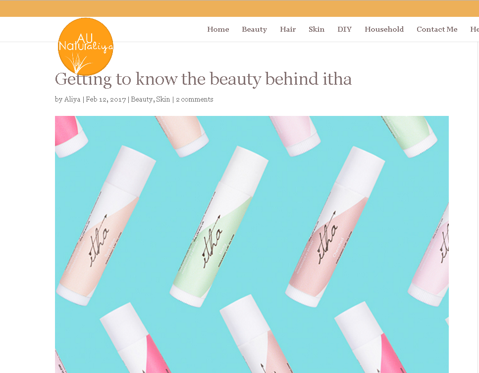 Getting to know the beauty behind itha