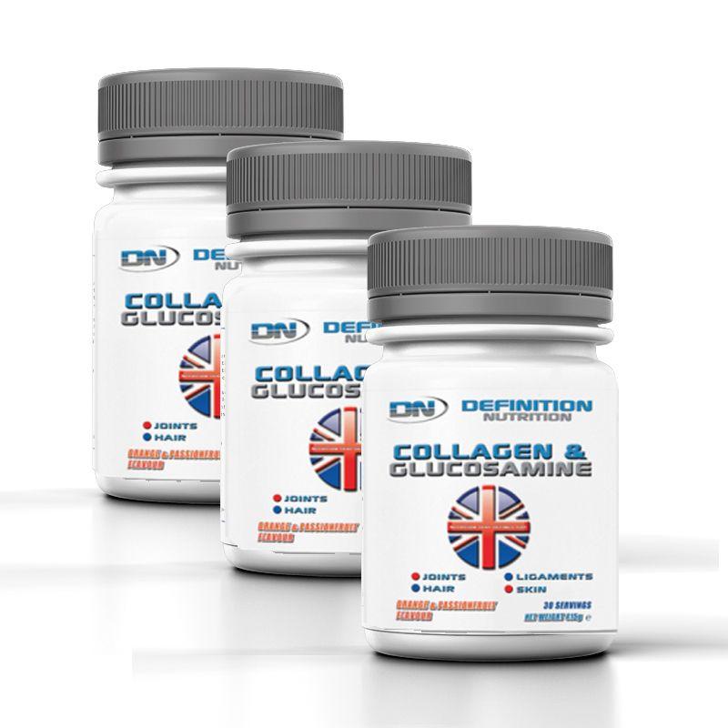 Collagen & Glucosamine Flavoured Drink X 3