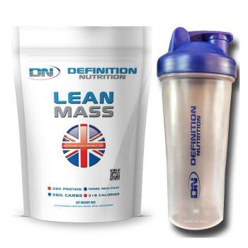 Lean Mass Gainer 3kgs (6.6lbs) 37 Servings + Shaker