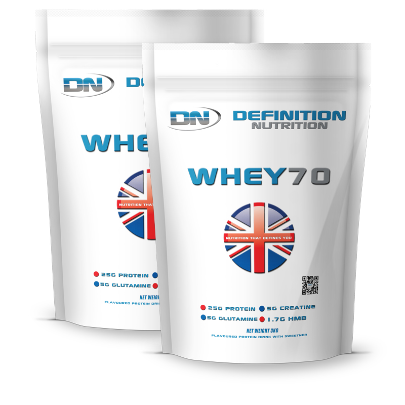 Whey 70 Instantised Great Tasting 170 Servings 6kg (13.2lb)