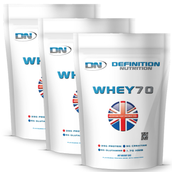 Whey 70 9kg (19.8lb) 225 Servings