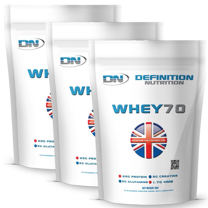 Whey 70 Instantised Great Tasting 255 Servings 9kg (19.8lb)