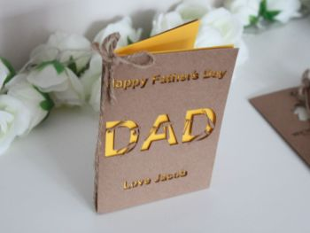 Personalised Father's Day Card (Tools)