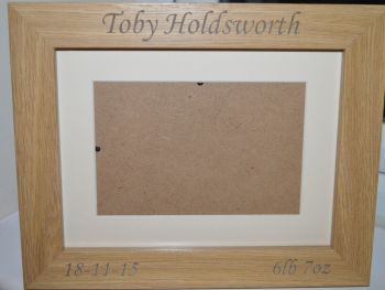 Childrens Personalised Picture Frame
