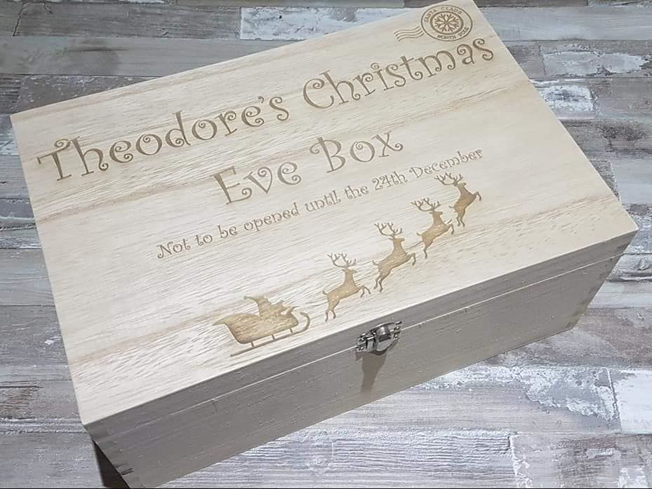 Christmas Eve Wooden Boxes & Boards