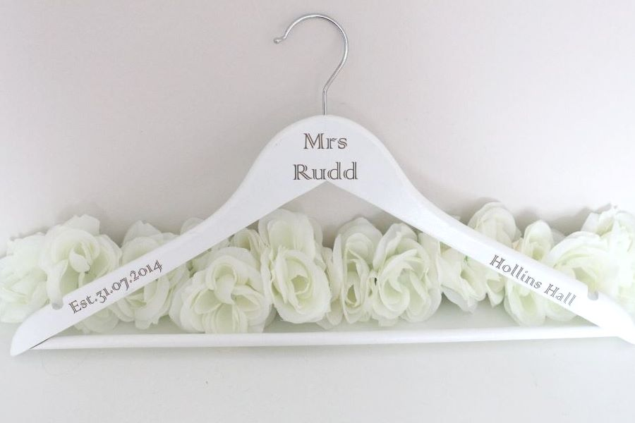 Personalised Wedding Coat Hangers