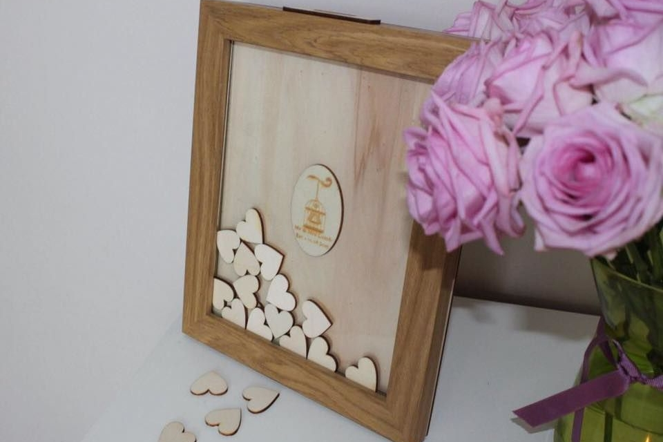 Personalised Wedding Guest Book Alternatives.