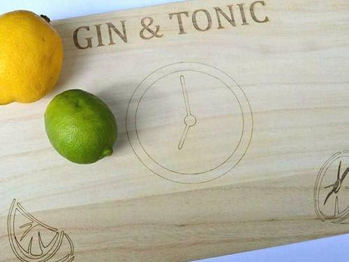 Gin & Tonic Time Chopping Board