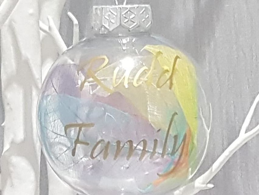 Family Christmas Bauble