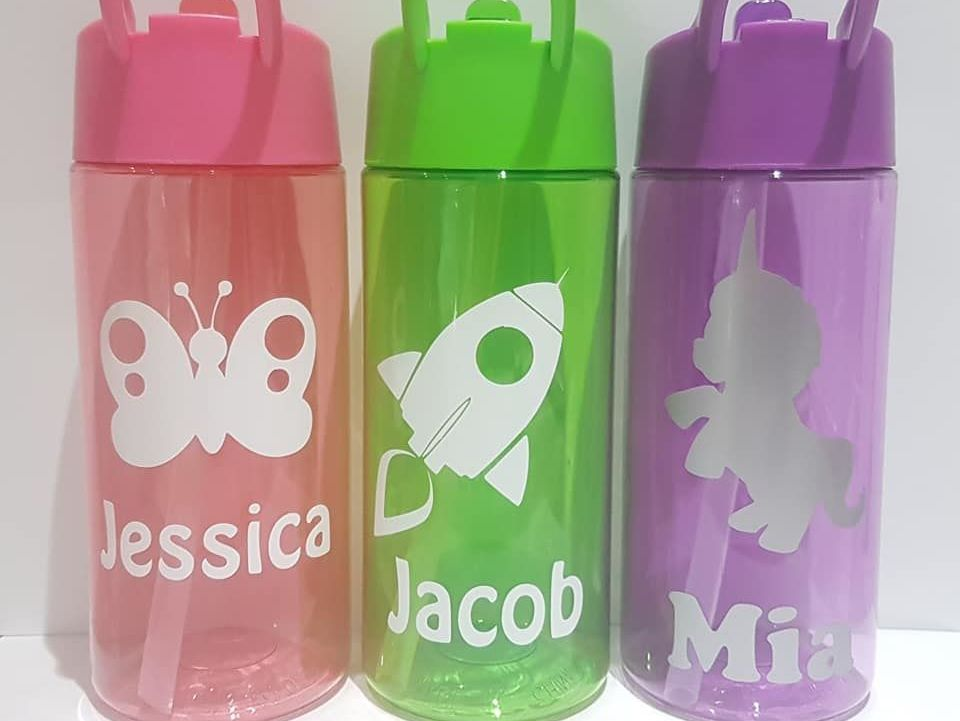 Personalised Children's Water Bottles