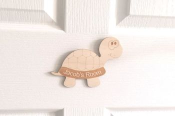 Personalised Children's Wooden Door Name Plaque