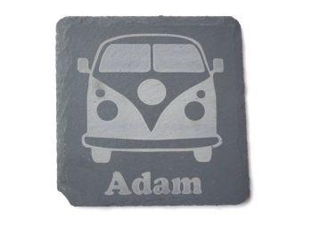 Personalised  Campervan Coasters