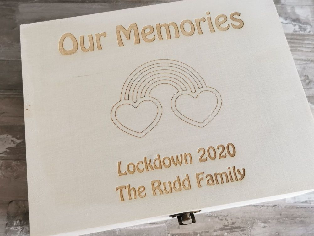 Rainbow Lockdown Memory Box