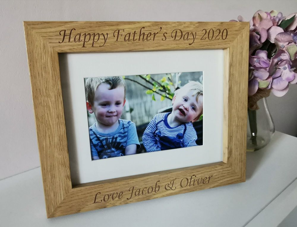 Personalised Father's Day Photo Frame