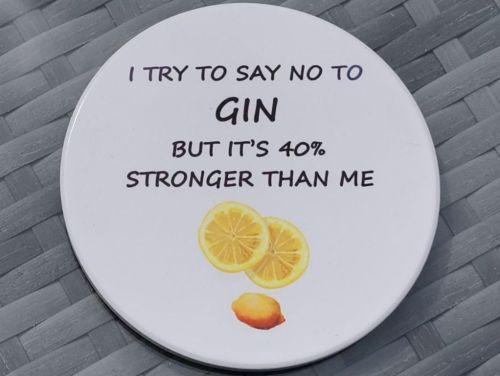 Fun Ceramic Gin Coaster