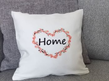 Blossom Heart Home Cushion Cover