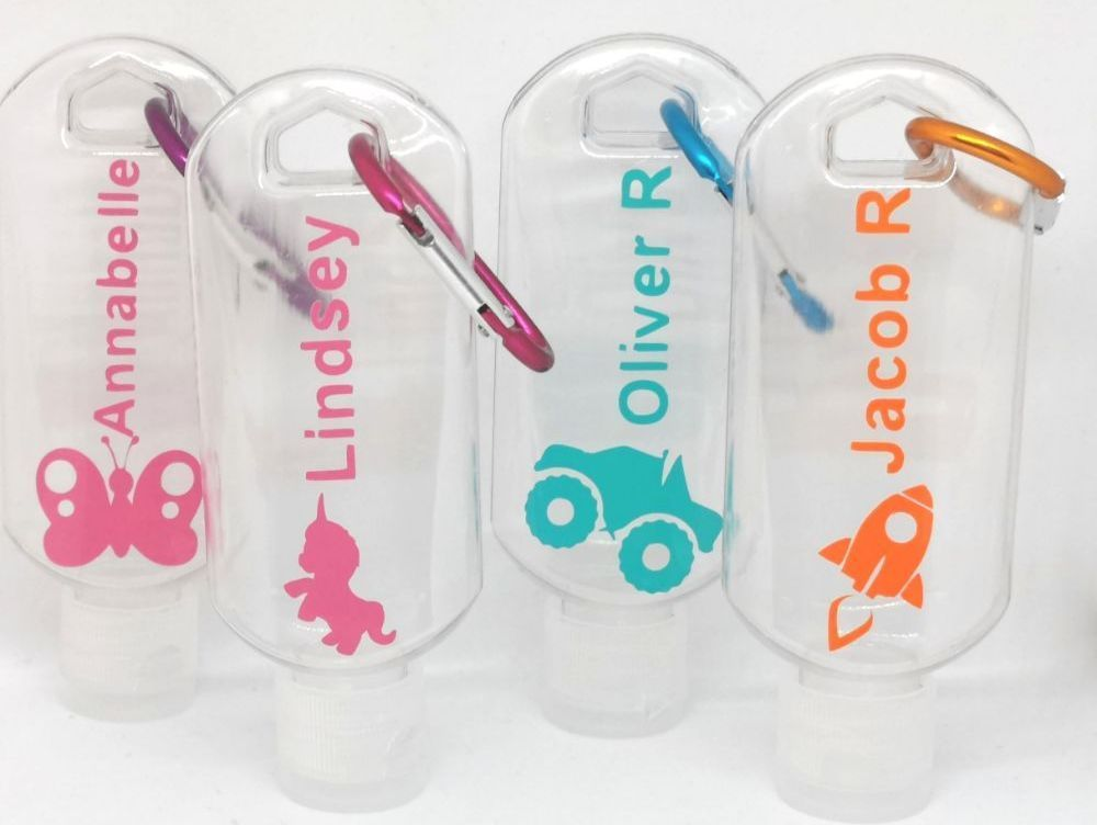 Personalised Sanitizer Bottles